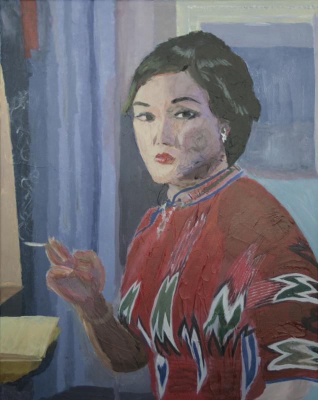 Gertjan Buijs. Sketch of Wang Zhi