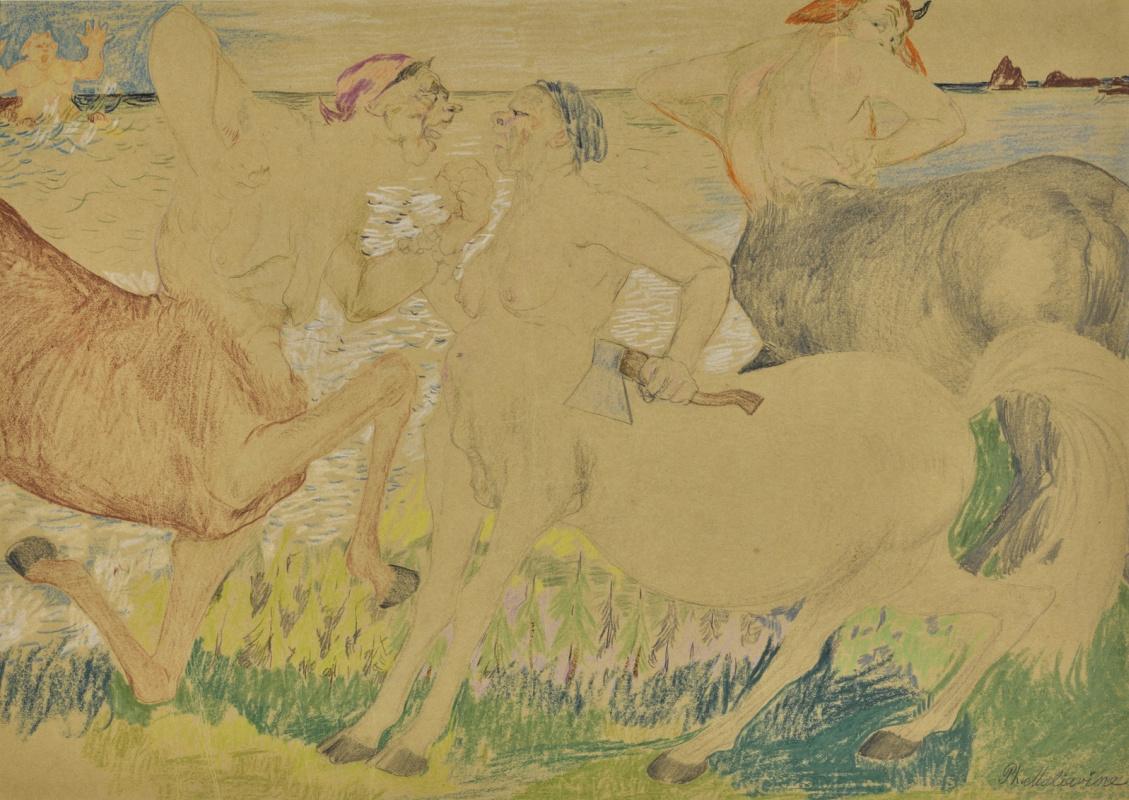 Philip Andreevich Malyavin. Centaurs