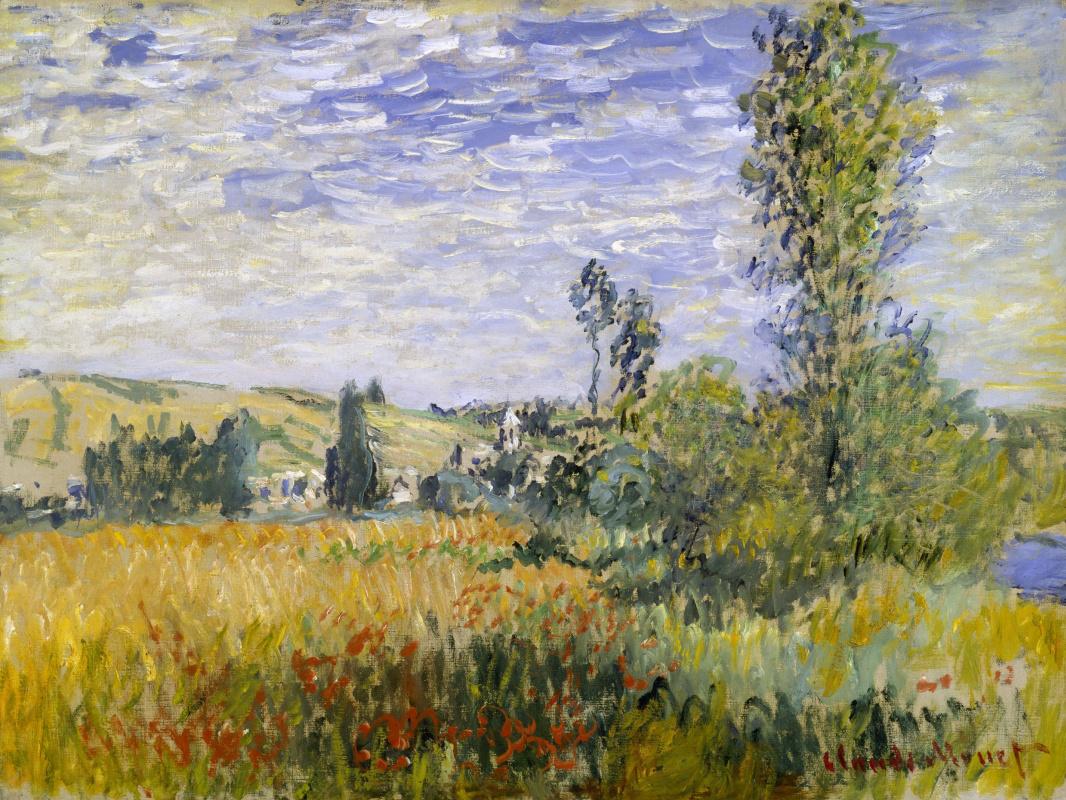 Claude Monet. Vétheuil