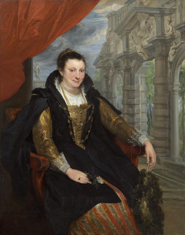 Anthony van Dyck. Isabella Brandt