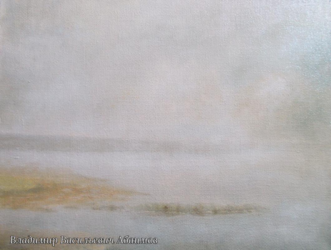 Vladimir Vasilyevich Abaimov. The foggy Lake 3