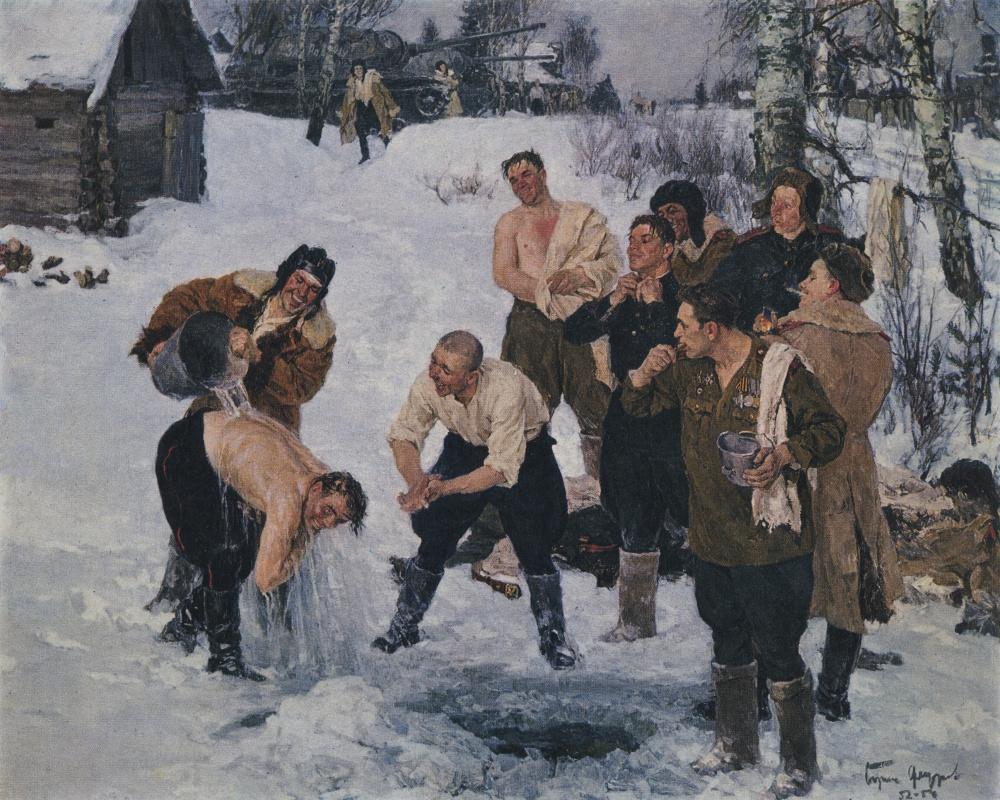 Boris Fedorovich Fedorov. Утро танкистов