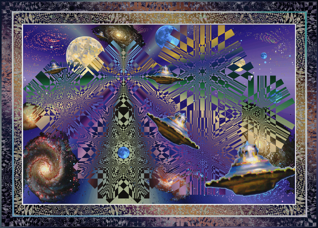 Юрий Николаевич Сафонов (Yury Safonov). Cosmic refueling (a series of golden sections)