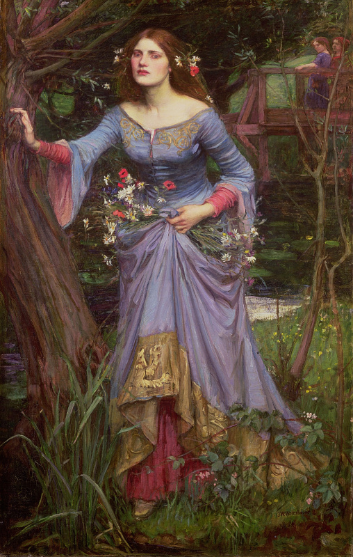 John William Waterhouse. Ophelia