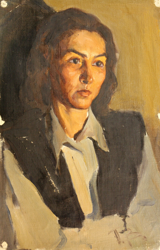 Peter Dmitrievich Volsky. Female portrait