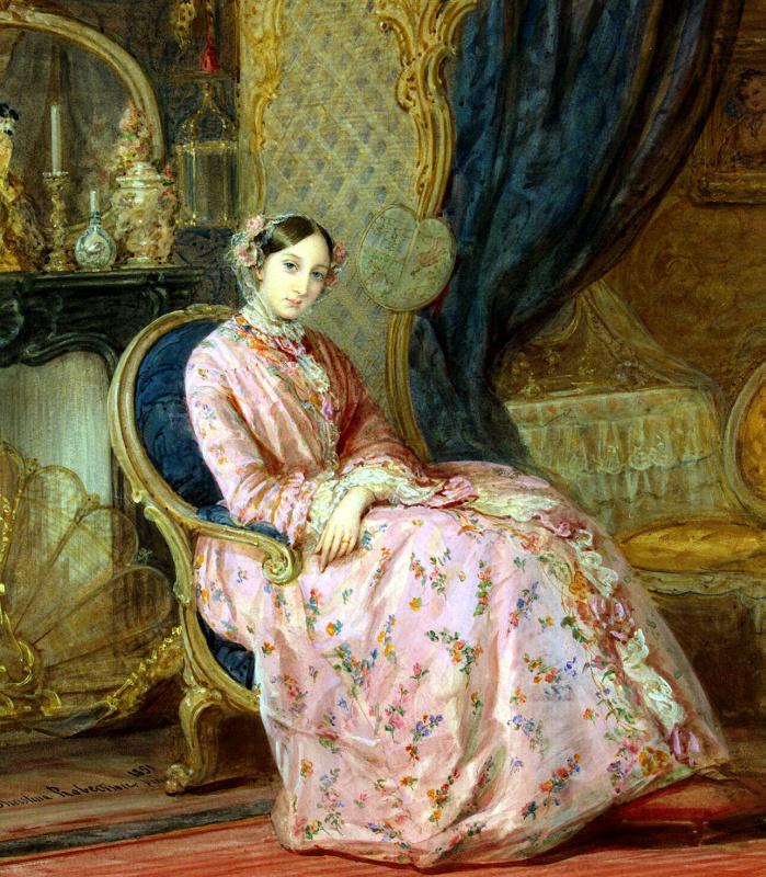 Кристина Робертсон. Портрет великой княгини Марии Николаевны