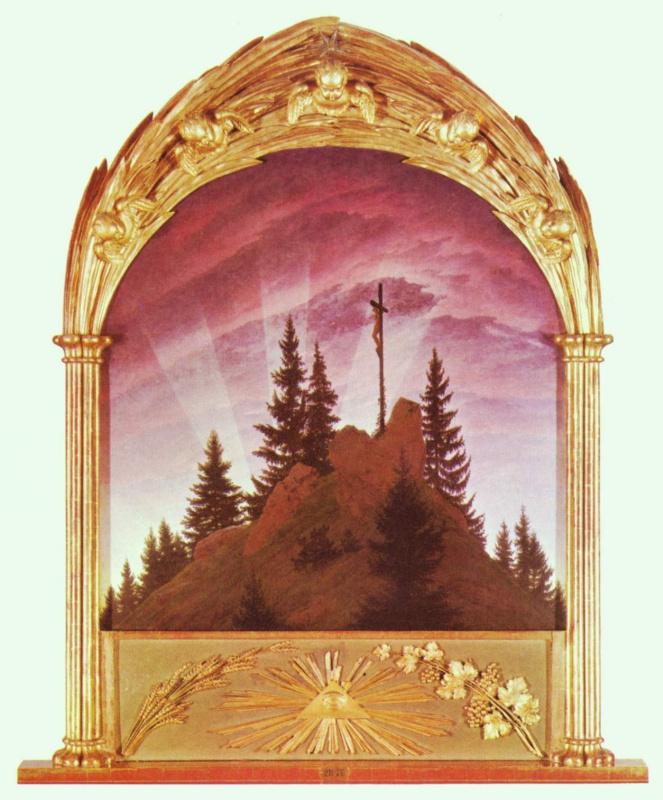 Каспар Давид Фридрих. Тэтчерский алтарь