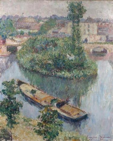 Toradjiro Kojima. About Grez-sur-Loing