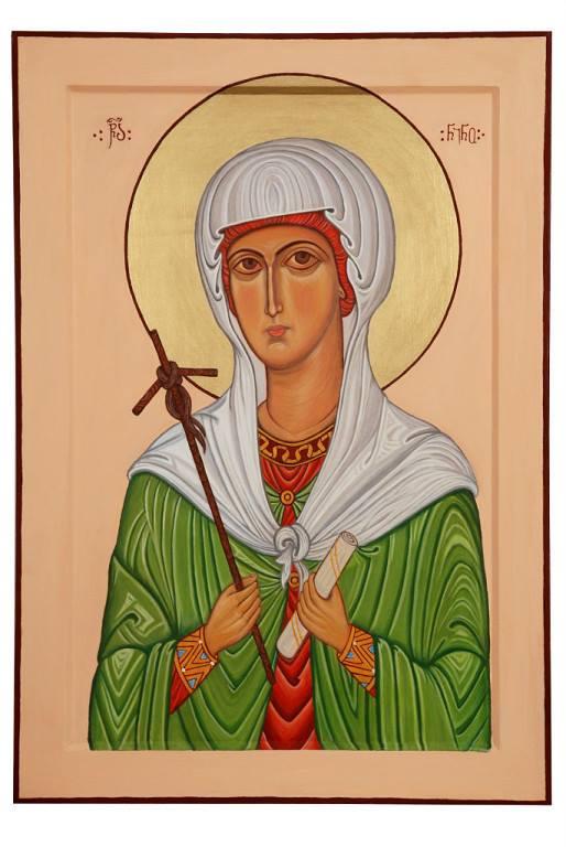 Badri Bukia. Icon of Saint Nino