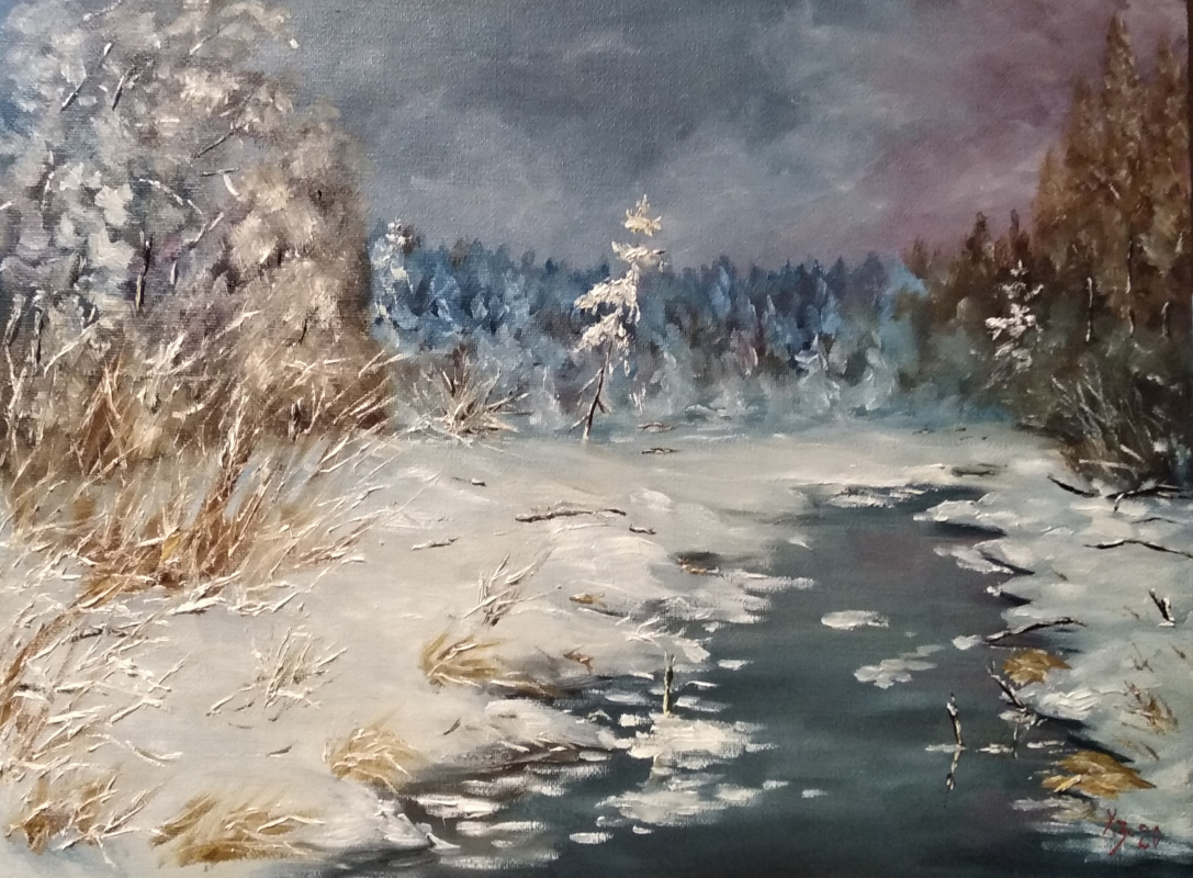Sergei Nikolayevich Khodorenko-Zatonsky. The magic of winter