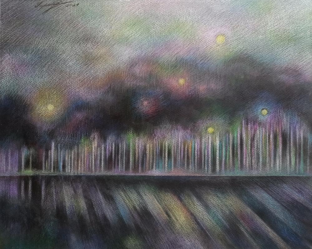 Irina Gubarevich. Winter lights