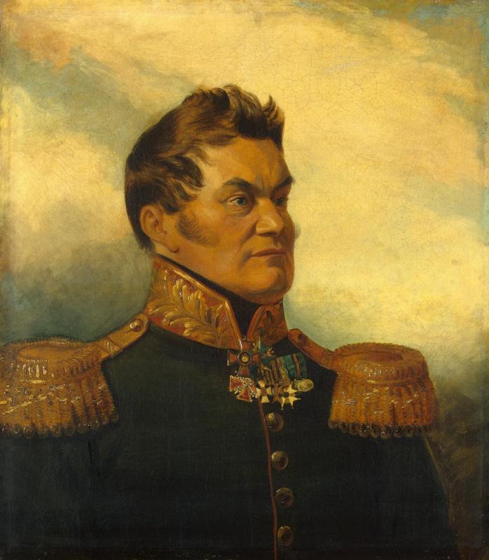 Томас Доу. Портрет Андрея Васильевича Богдановского