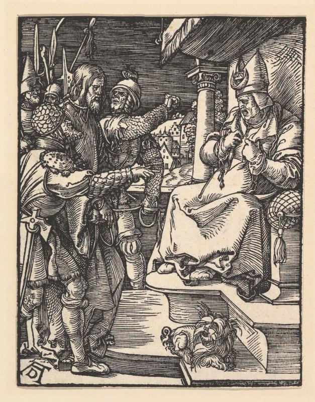 Albrecht Durer. Christ before Caiaphas