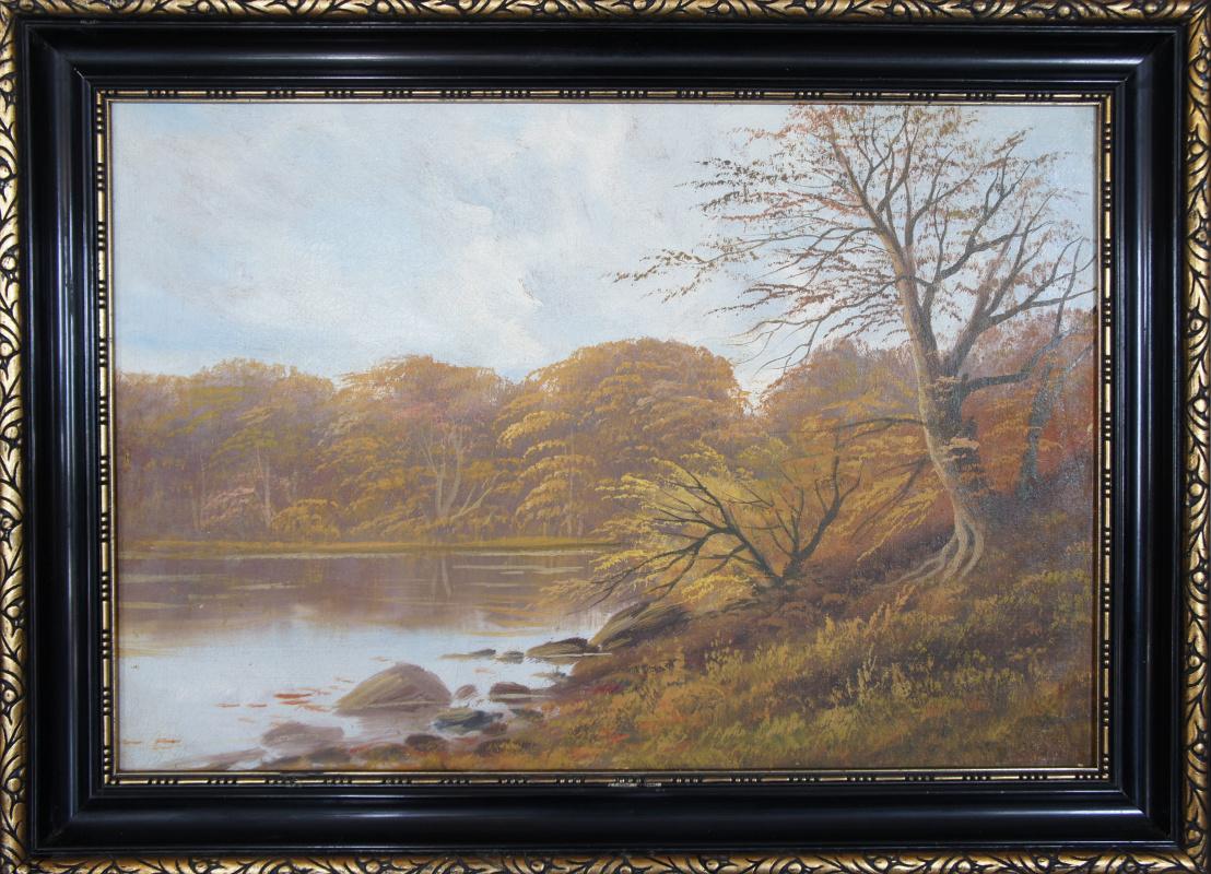 Unknown artist. Lake Shore (Renoir)