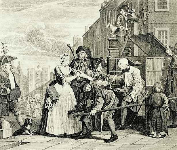 William Hogarth. Arrest