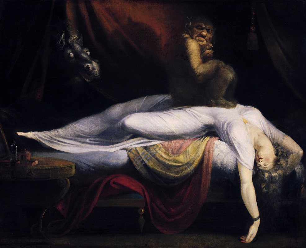 Johann Heinrich Fuessli. Nightmare