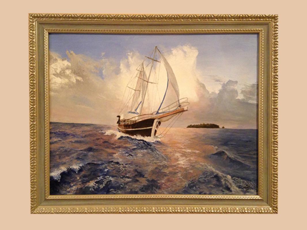 Sandalova Alena. Ship
