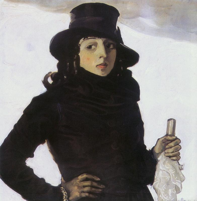 Тадеуш Прушковский. Портрет жены художника