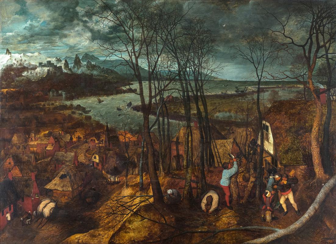 Pieter Bruegel The Elder. The Gloomy Day