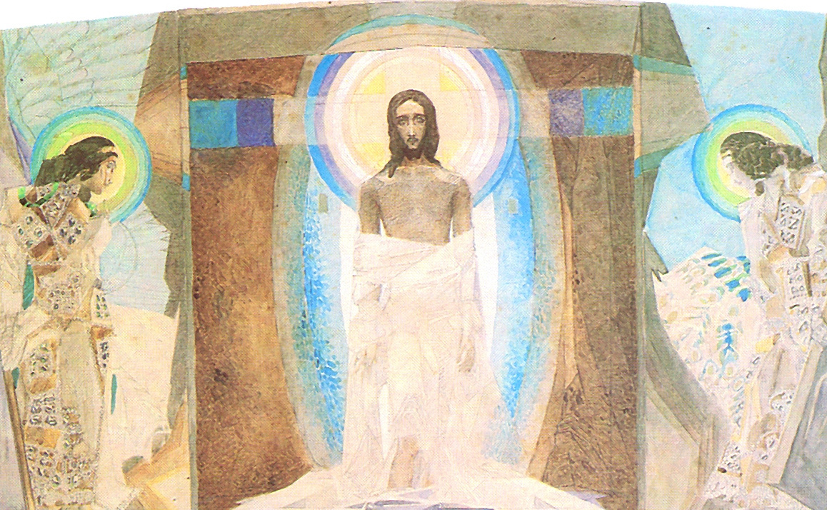 Mikhail Vrubel. Sunday. Triptych. The sketch for the painting of the Vladimir Cathedral in Kiev