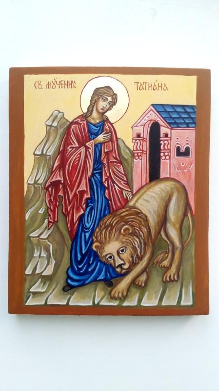 Catherine Satulina. Holy Martyr Tatiana
