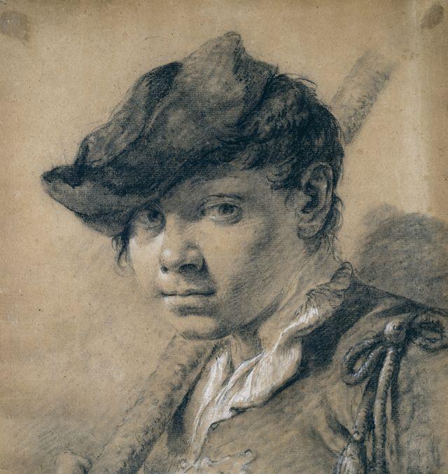 Джованни Баттиста Пьяцетта. Портрет юноши