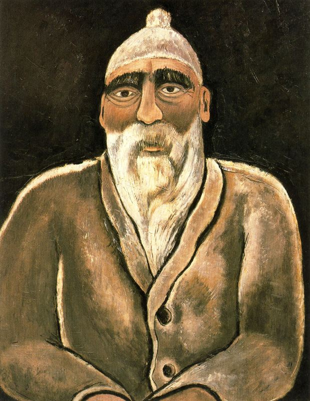 Marsden Hartley. The old man