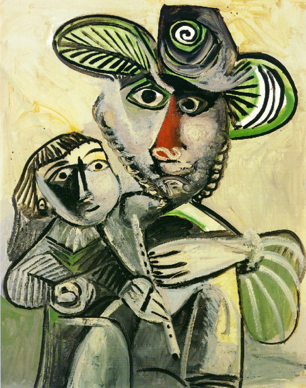 Пабло Пикассо. Отцовство