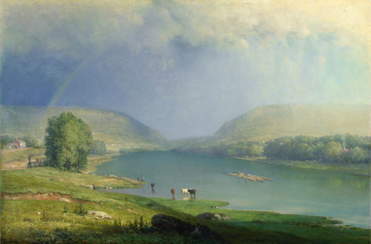 George Innes. The Delaware Bay