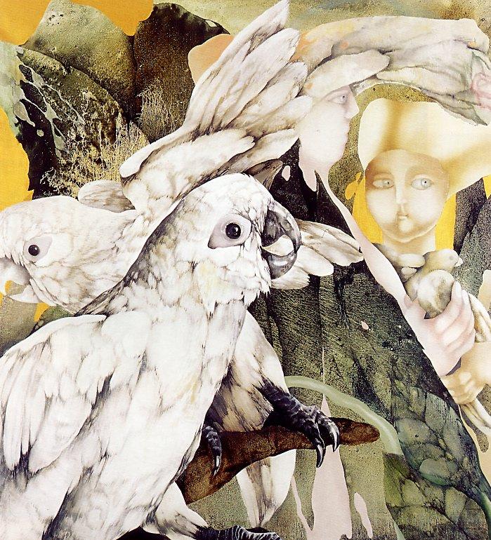 Мишель Бастин. Белые попугаи