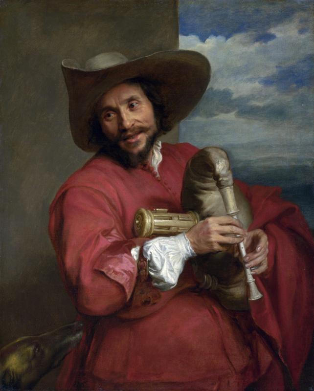 Антонис ван Дейк. Портрет Франсуа Ланглуа
