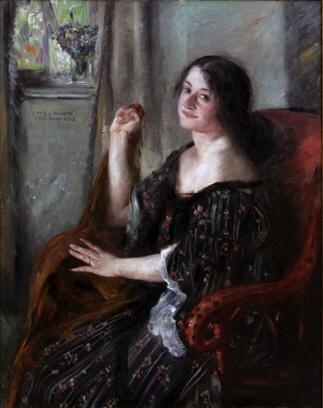 Portrait Of Charlotte Berend