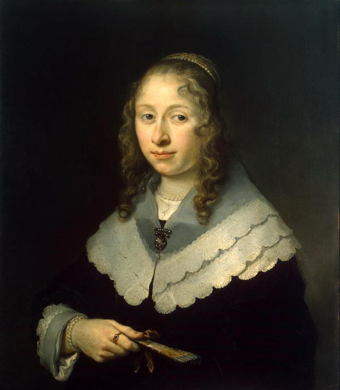 Gowert Flink. Female portrait