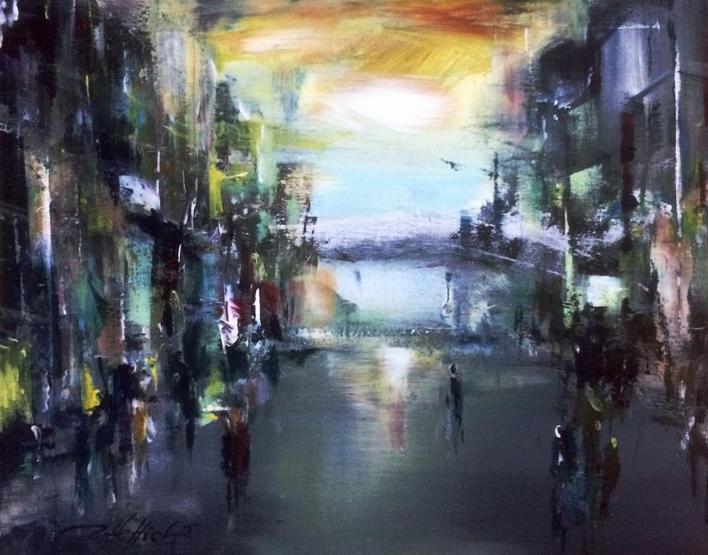 Robert Hettich. City twilight