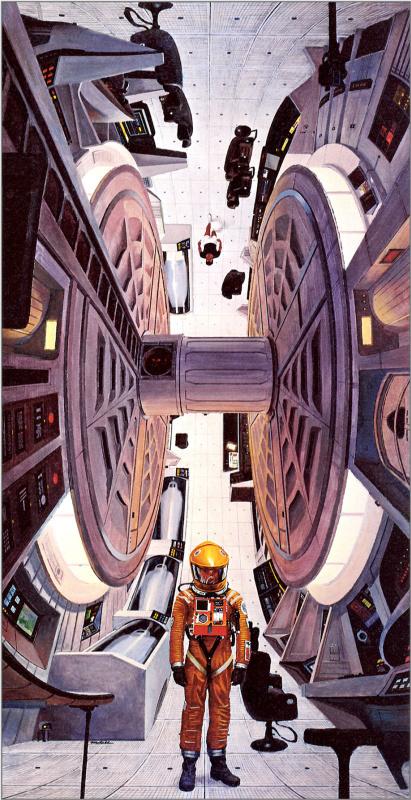 Роберт Маккалл. Космический корабль