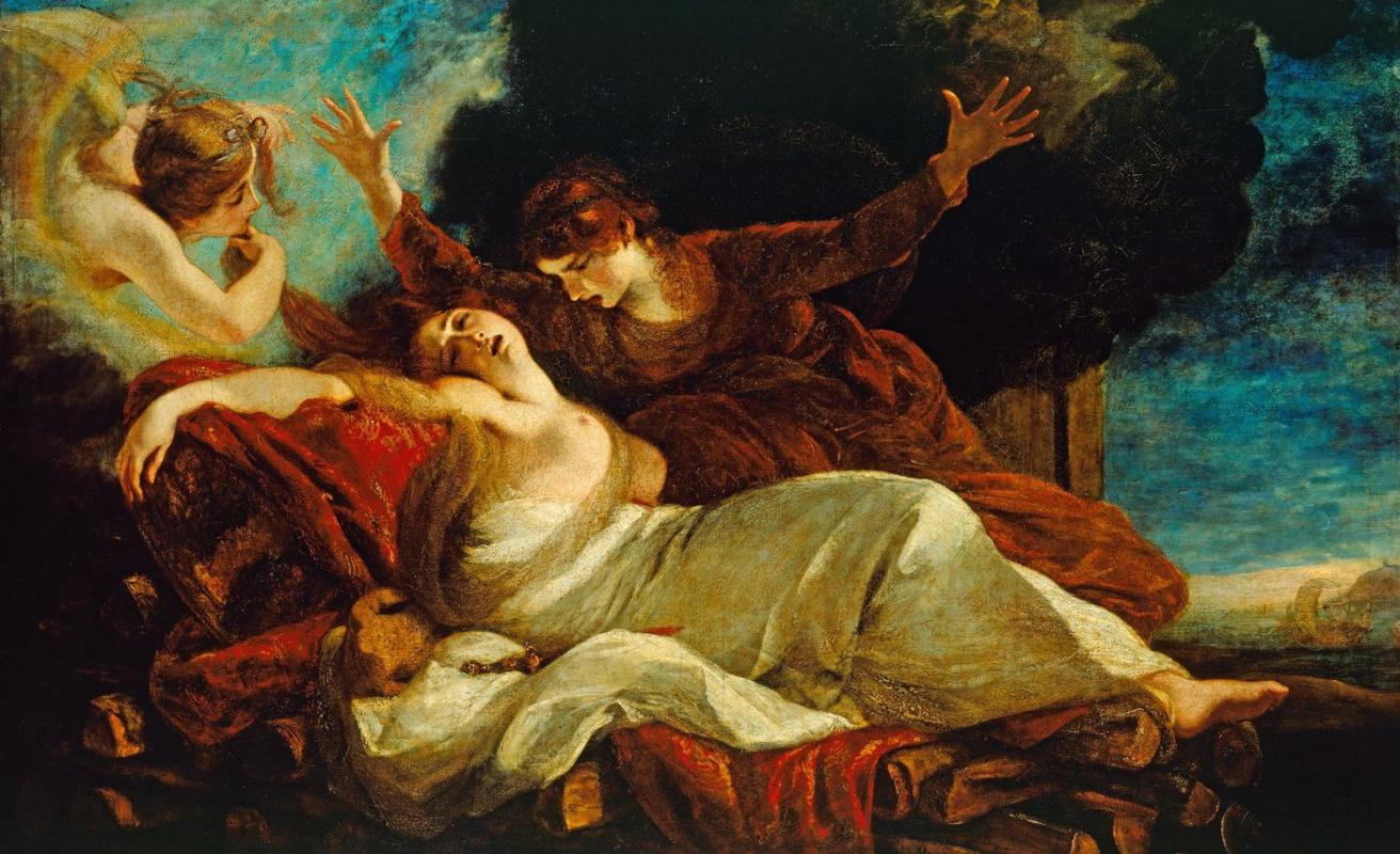 Joshua Reynolds. Death of Dido