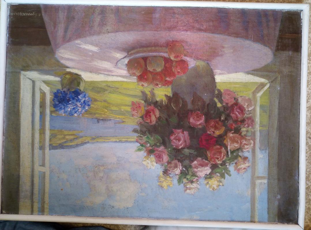 Vasily Panfilovich Kurmanaevsky. Flowers and landscape