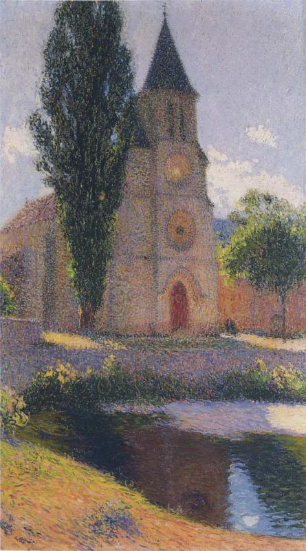 Анри Мартен. Церковь