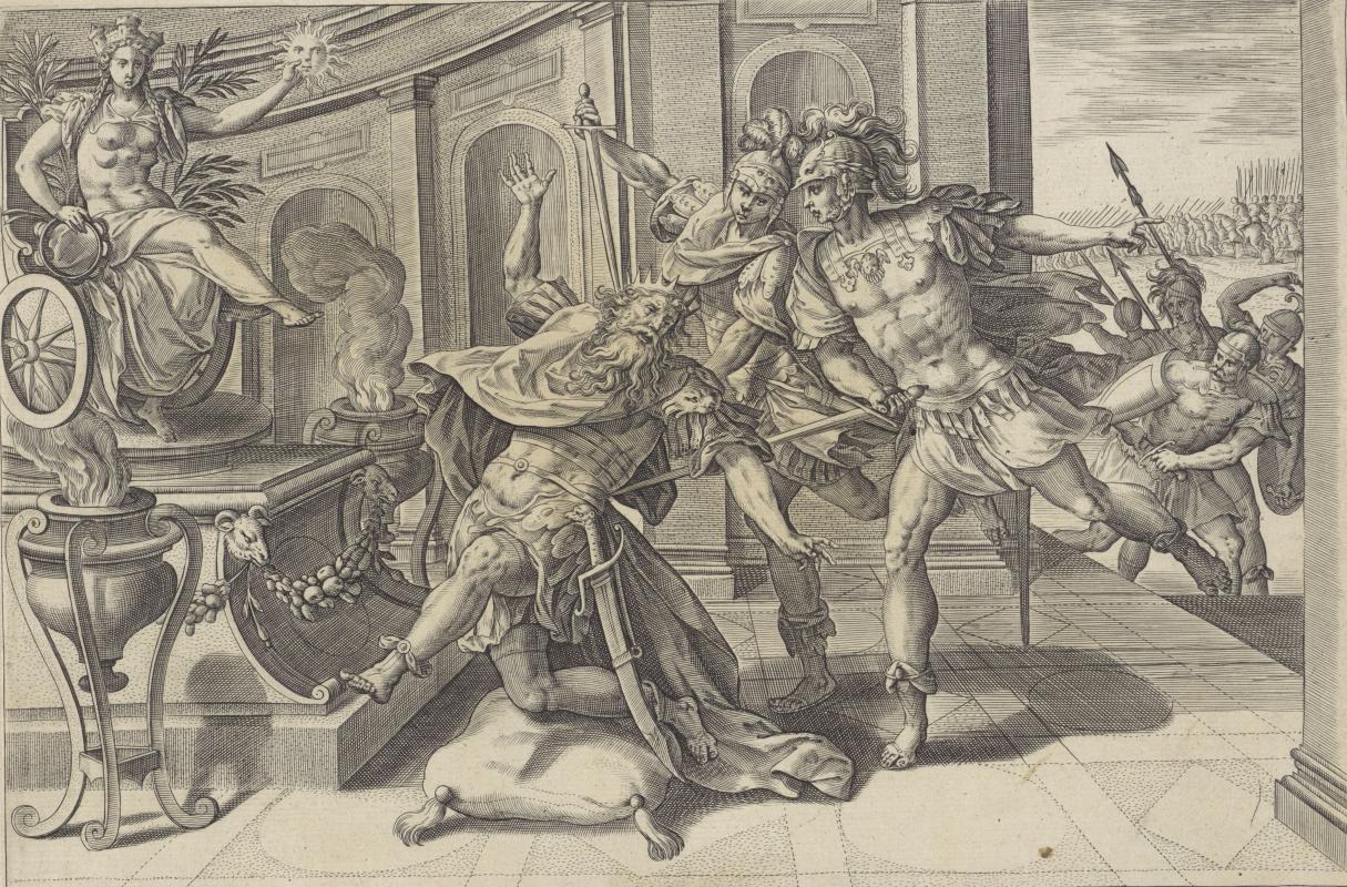 Marten de Vos. Death of sanheriba