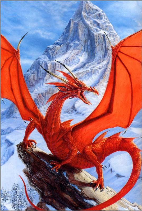Пол Джаквейс. Красный дракон