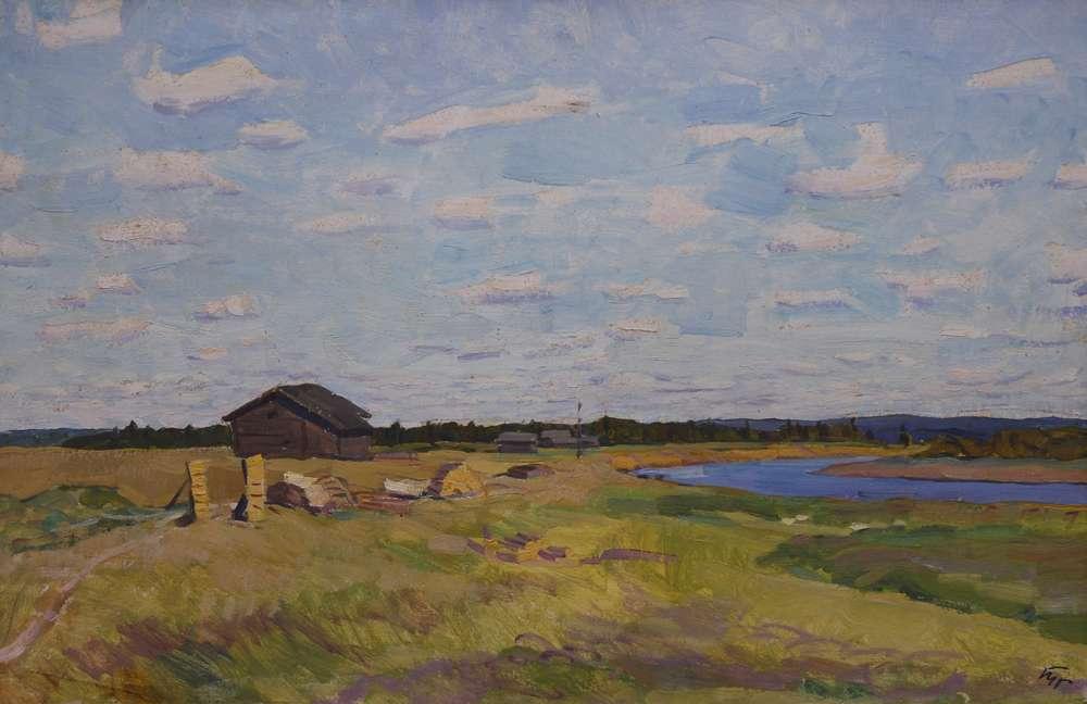 Eugene Nikolayevich Troshev. Bright day Sysora River