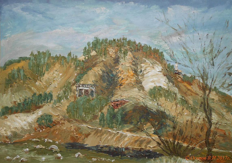 Владимир Иванович Осипов. Abandoned quarry