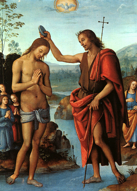 Pietro Perugino. The Baptism Of The Lord