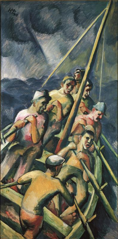 Макс Пехштейн. Рыбацкая лодка