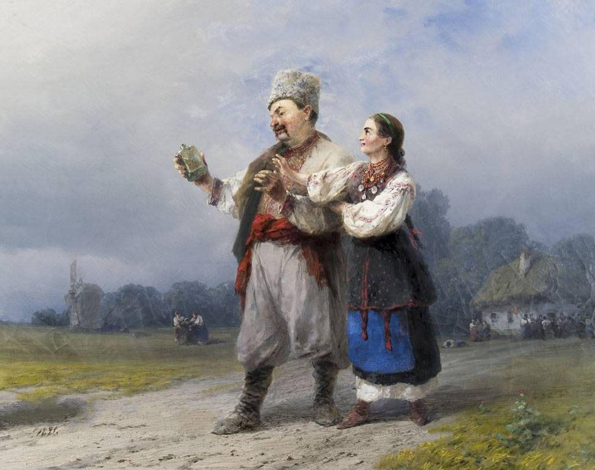 Иван Константинович Айвазовский. Возвращение со свадьбы