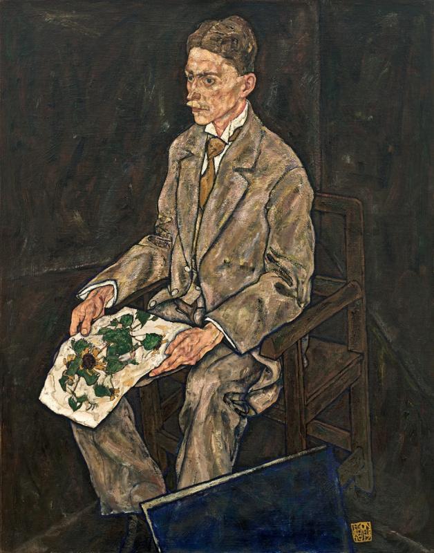 Egon Schiele. Bildnis Dr. Franz Martin Haberditzl