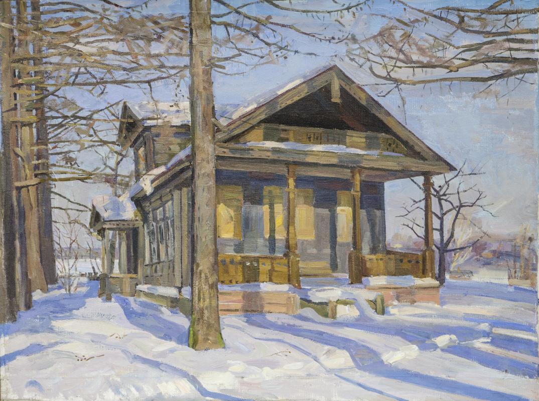 Eugene Alexandrovich Kazantsev. March. An old house.