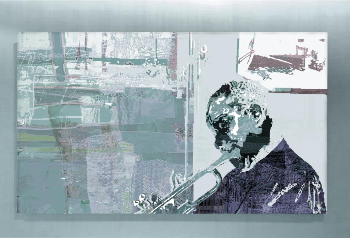 "Vladimir Evgen'evich Koreshkov. ""all this jazz !!!"" numbered poster"