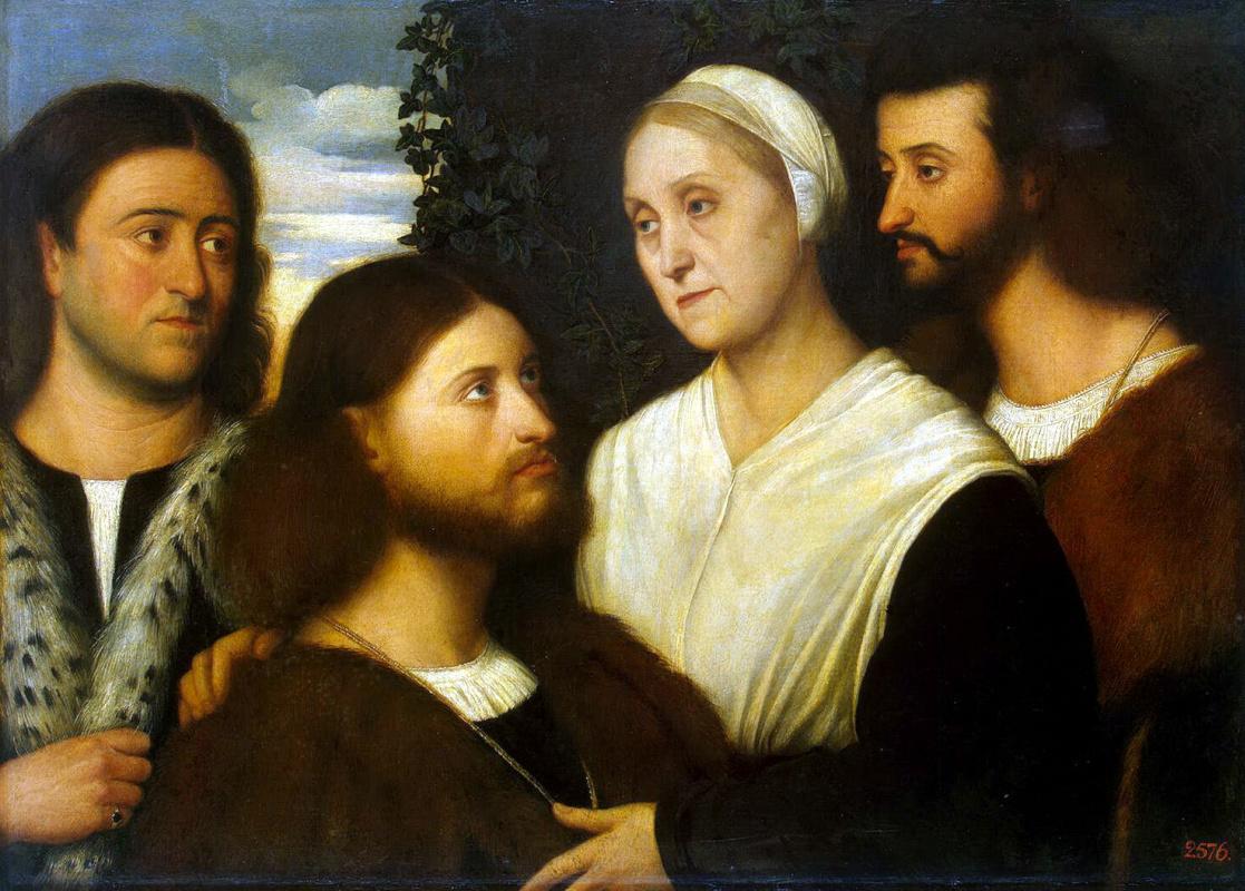 Бернардино Личинио. Семейный портрет