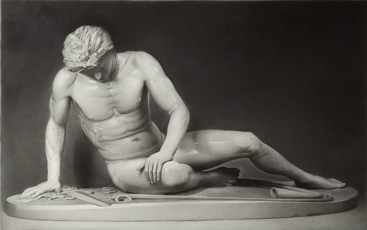 Sergei Hinz. Dying Gladiator